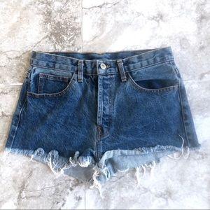 Brandy Melville • Blue Denim Cutoff Jean Shorts